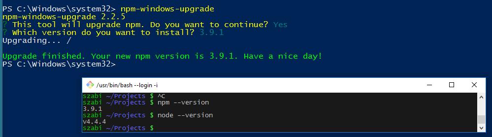如何在 Windows 10 中搭建 Node.js 环境? 技术分享 第1张